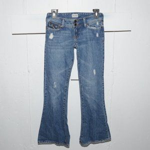 Abercrombie flare girls jeans size 14